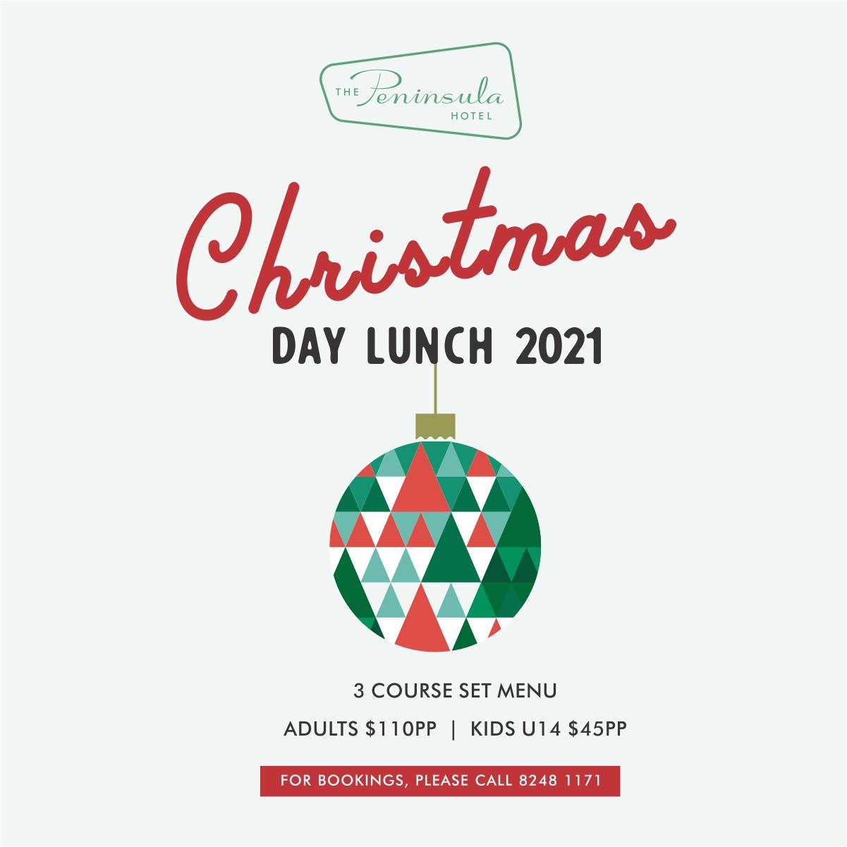 Peninsula Christmas Day 2021 sq